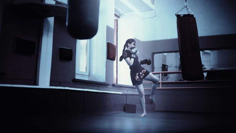 boxeo saco