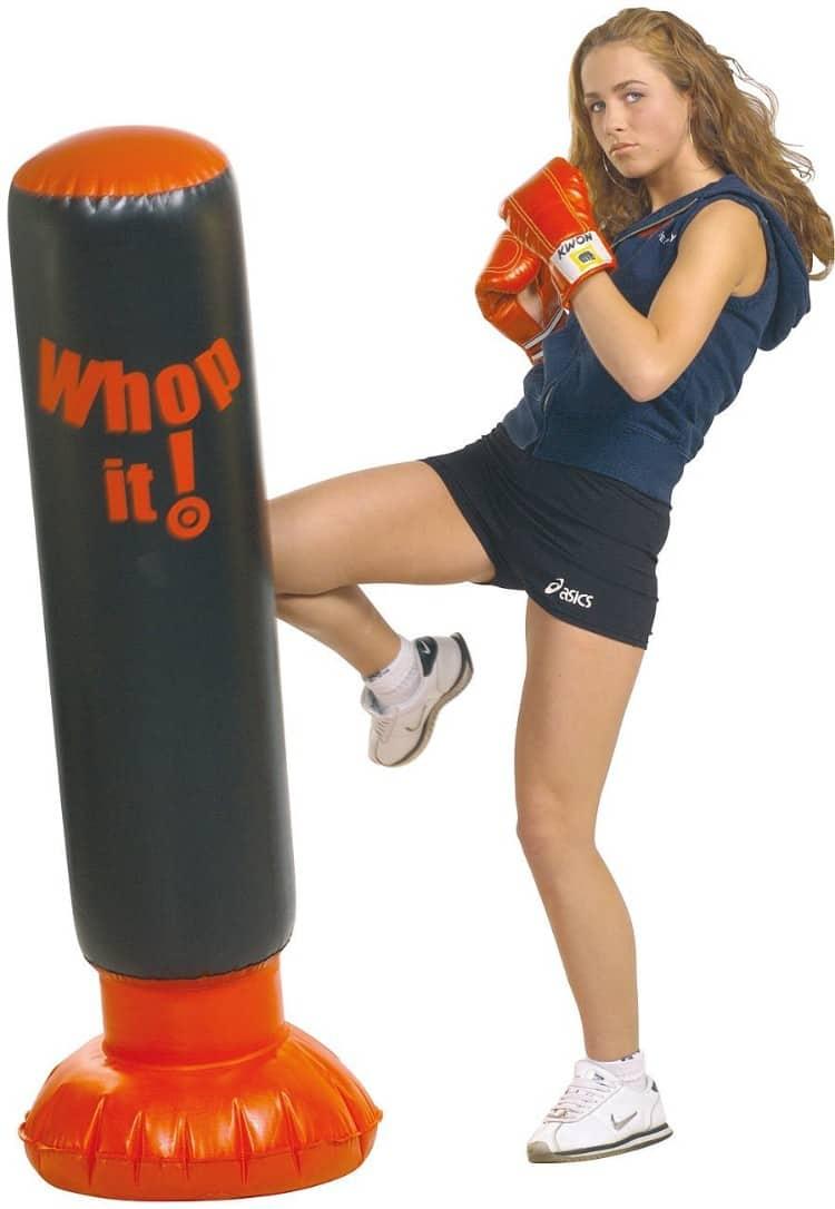 saco boxeo suelo