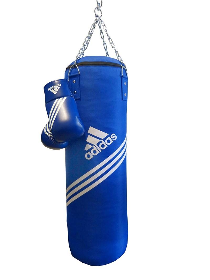 saco de boxeo adidas piel