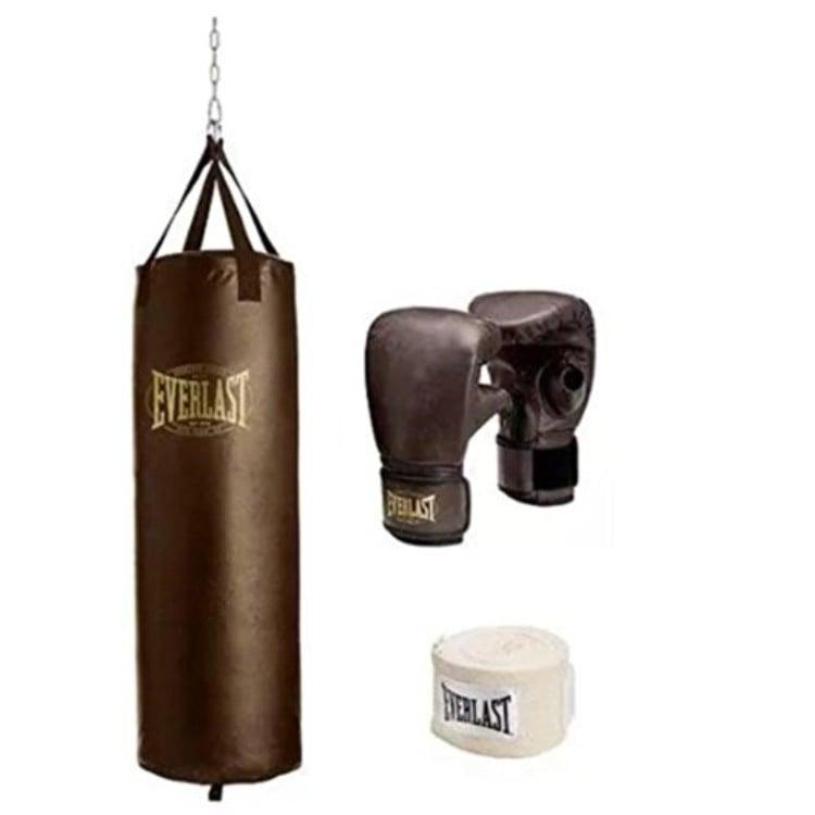 saco de boxeo hinchable everlast