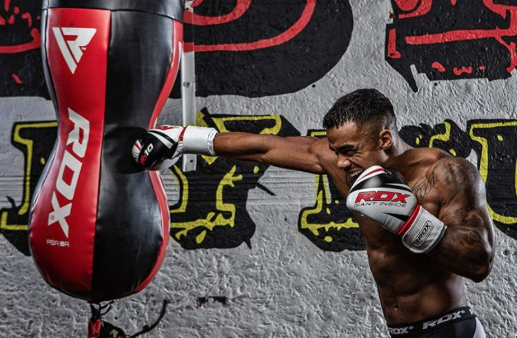 RDX Uppercut Sacos De Boxeo Bolsa MMA SIN LLENAR /Ángulo Cuerpo Saco Pared Kick Boxing Muay Thai